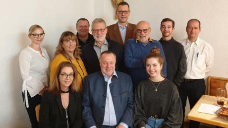 Das ist das Team der Freien Wähler Friedberg für die Stadtratswahl 2020.