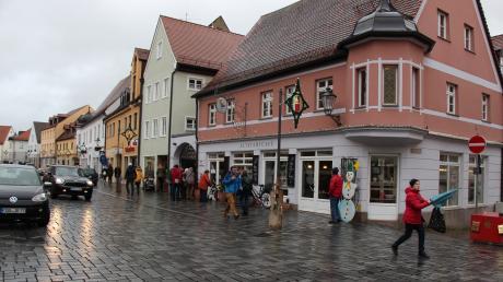 Die Geschäftsleute in der Friedberger Innenstadt zeigen sich zufrieden mit dem Jahr 2019.