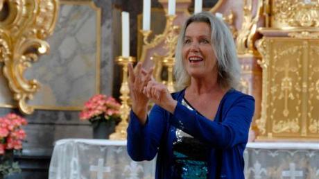 Martina Herz singt in Stätzling.
