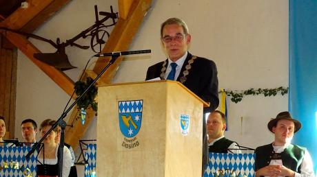 Erich Nagl begrüßte 250 Gäste bei seinem letzten Neujahrsempfang als Bürgermeister von Dasing.