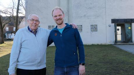 Der Kirchenvorstand mit dem Vertrauensmann Jürgen Pflügel (links) und Diakon David Mühlendyck übernehmen derzeit viele zusätzliche Aufgaben in der Emmaus-Gemeinde.