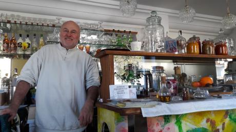 Clemens Etschmann möchte im Meringer Café Lupo bald Tapas anbieten.
