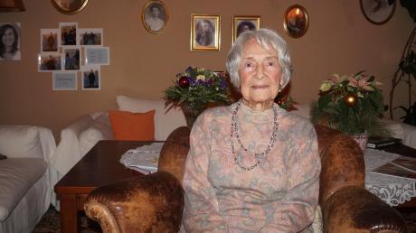 Else Börngen ist eine echte Meringerin und hat in den fast 100 Jahren ihres Lebens viel erlebt.