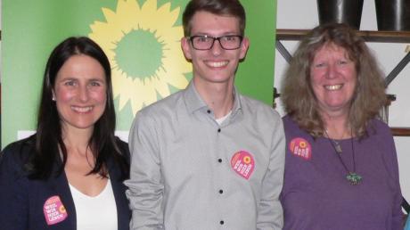 Sie wollen die Grünen im Landkreis Aichach-Friedberg voranbringen (von links): Claudia Eser-Schuberth, Wolfgang Pfeiffer, Christina Haubrich, Stefan Lindauer, Marion Brülls und Magdalena Federlin.