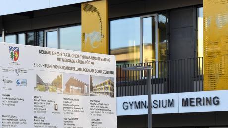 Noch befindet sich das Meringer Gymnasium im Aufbau. Doch auch dort werden die Schülerzahlen steigen.