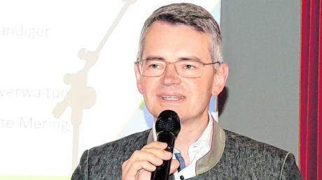 Die Rede des CSU-Landtagsabgeordneten Peter Tomaschko beim Politischem Aschermittwoch in Kissing verfolgten etwa 100 Gäste.