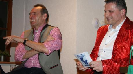 Bürgermeister Josef Wecker (links) und Christian Mutter.