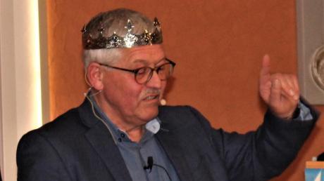 Fastenprediger Anton Oberfrank nahm beim Starkbieranstich in Friedberg kein Blatt vor den Mund.
