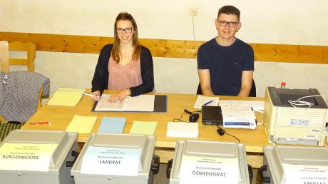 Beinahe 72 Prozent aller Wahlberechtigten gaben in Steindorf ihre Stimme zur Wahl von Bürgermeister und Gemeinderat ab.