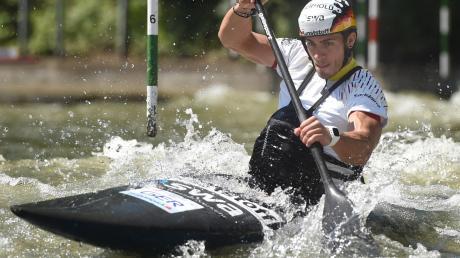 Begrüßte die Entscheidung des IOC, die Olympischen Spiele in Tokio auf das kommende Jahr zu verlegen: Der Friedberger Kanute Sideris Tasiadis.