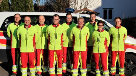 Die First Responder in Baindlkirch hatten im vergangenen Jahr 120 Einsätze. Sie werden bei Notarzteinsätzen und bei Notfällen zur Überbrückung, bis der Rettungswagen da ist, alarmiert (das Bild entstand vor Beginn der Ausgangsbeschränkungen).