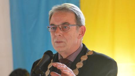 Zwölf Jahre lang lenkte Erich Nagl die Geschicke der Gemeinde Dasing. Jetzt freut er sich auf mehr Privatleben.