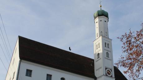 In der Pfarrkirche Sankt Georg in Stätzling werden wieder Gottesdienste gefeiert.
