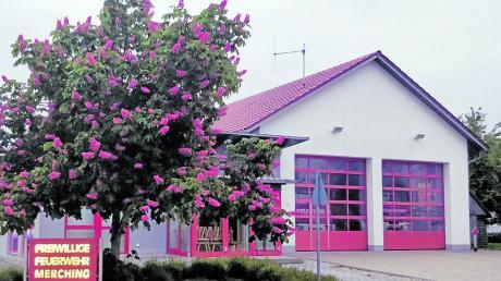 Das Feuerwehrhaus in Merching soll eine Photovoltaikanlage bekommen.