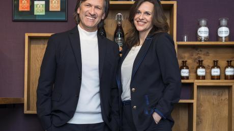 Natalie und Jürgen Kunzmann freuen sich über die Auszeichnungen für ihr Unternehmen.
