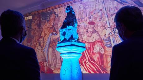 Nach der coronabedingten Verschiebung öffnet die Bayerische Landesausstellung in Aichach und Friedberg für die Besucher. Sie bekommen in  beiden Städten (so wie hier im Friedberger Schloss) tiefe Einblicke in die Geschichte.