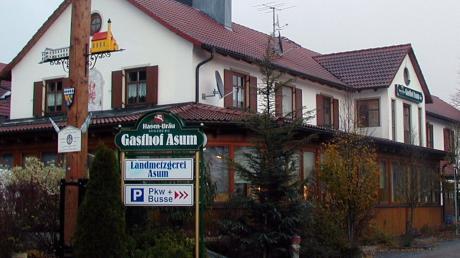 Der Landgasthof Asum in Laimering wird abgerissen.