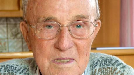 Willi Guggenmos ist kurz vor seinem 95. Geburtstag gestorben.