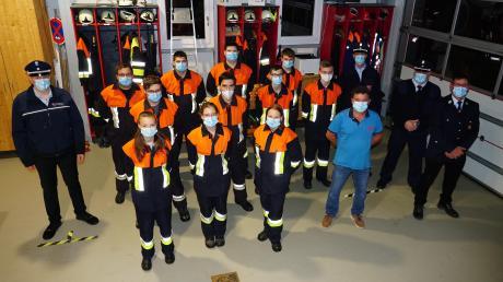 Die Freiwillige Feuerwehr Freienried stellte bei einer Leistungsprüfung ihr Können unter Beweis.