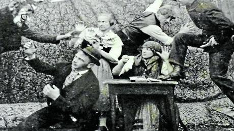 """So wild ging es auf der Steindorfer Bühne 1926 zu, als das Stück """"Er soll dein Herr sein"""" aufgeführt wurde."""