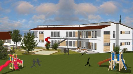 Die Erweiterung des Kindergartens gehört aktuell zu den größten Projekten der Gemeinde Eurasburg.