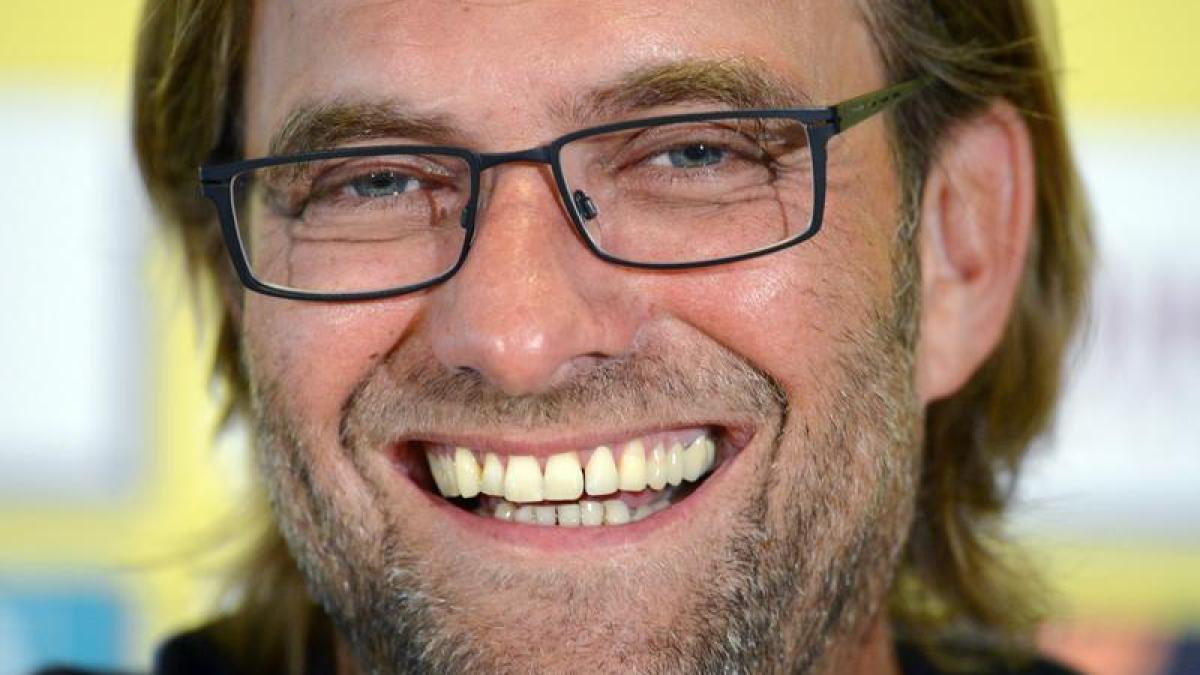 Fussball Jurgen Klopp Im Horsaal Fleischgewordene Zuversicht Augsburger Allgemeine