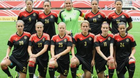 Die deutschen Nationalspielerinnen sind bei der EM Titelverteidiger und Favorit.