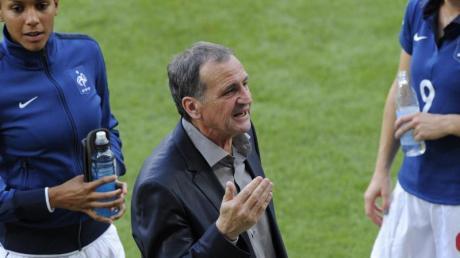 Coach Bruno Bini hat ein respektables Fraunteam zur EM aufgestellt.