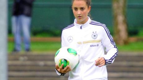 Sara Däbritz freut sich auf die EM in Schweden.