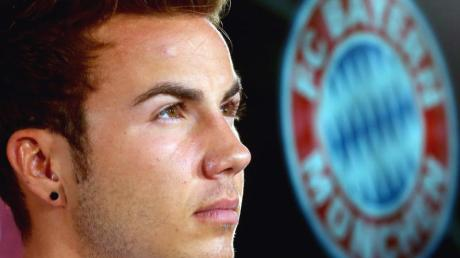 Der neue Star des FC Bayern: Mario Götze.