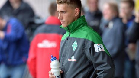Torjäger Nils Petersen fühlt sich wohl in Bremen.