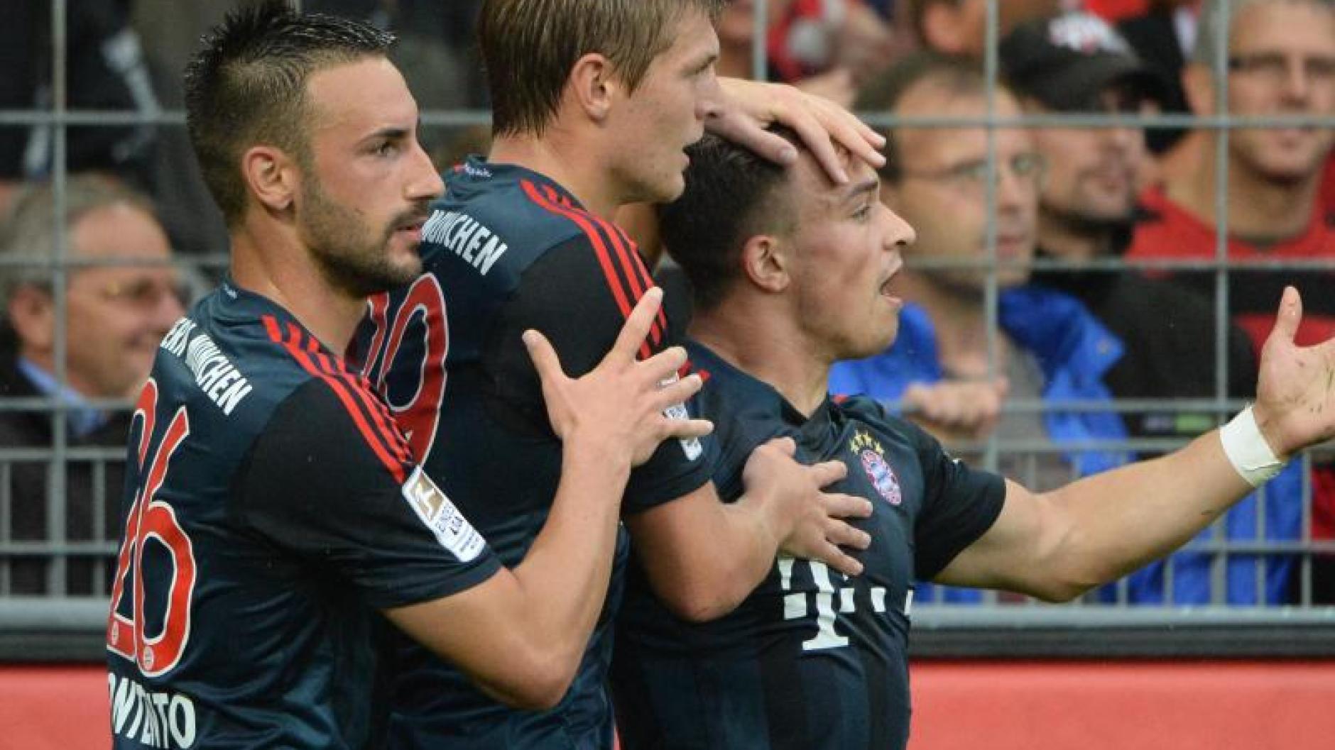 Quartett Fußball