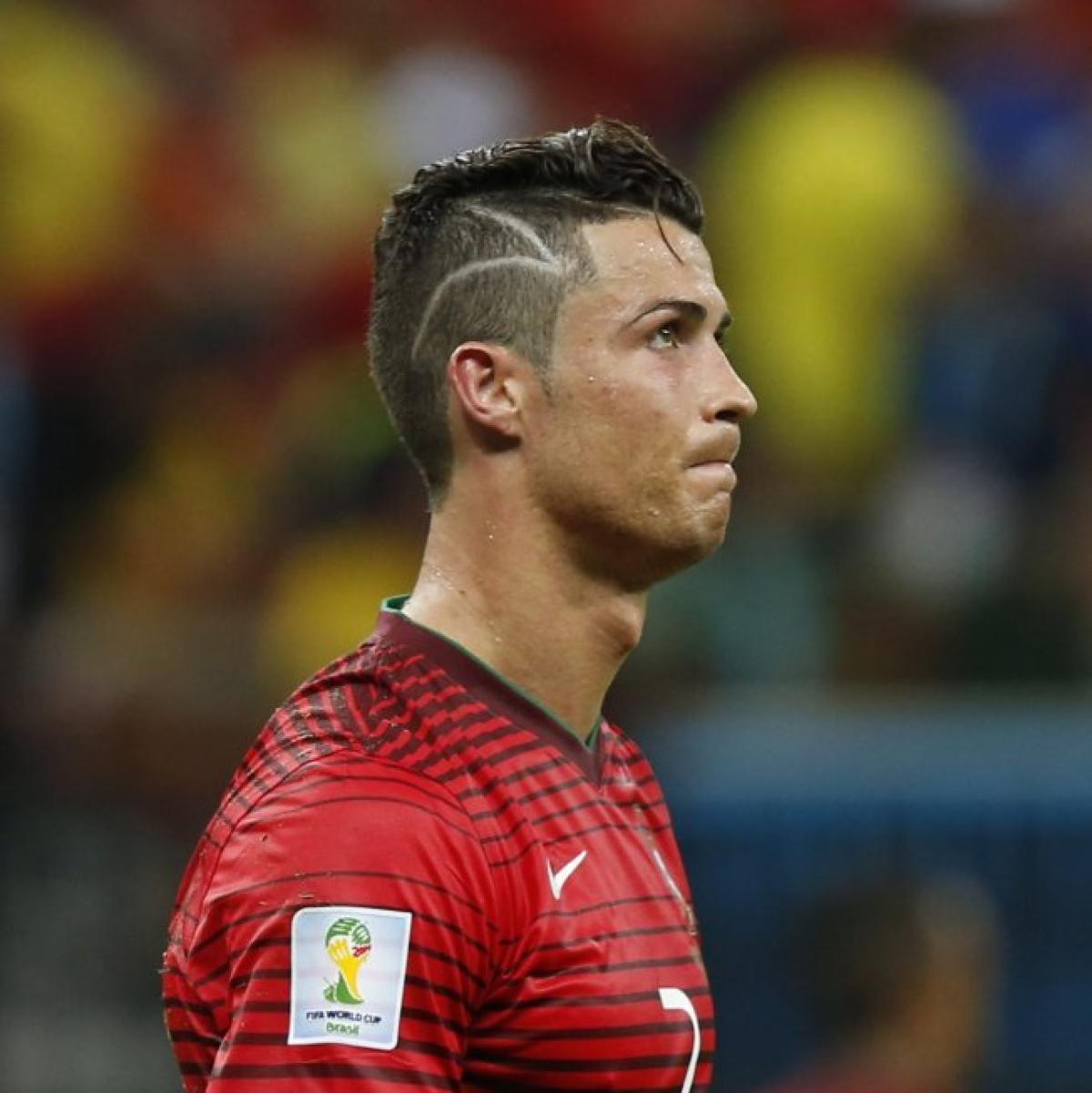 Wm 2014 Krankes Kind Darum Tragt Ronaldo Die Blitz Frisur