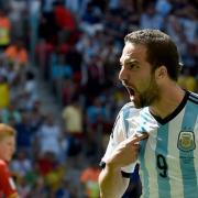 Gonzal Higuain; Argentinien; WM 2014