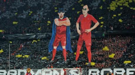 «The Real Badman & Robben» ist die Zeichnung eines Künstlers. Der FC Bayern missachtete dessen Urheberrecht - und muss nun womöglich Schadenersatz zahlen.