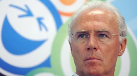 Franz Beckenbauer steht als Chef des Organisationskomitees in der Hauptverantwortung. Foto: Walter Bieri