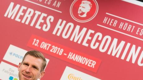 Freut sich auf sein Abschiedsspiel: Per Mertesacker.