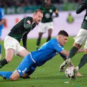 Kein Sieger im Duell Wolfsburg gegen Hoffenheim. Foto: Peter Steffen