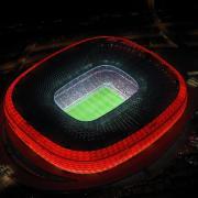 Der FC Bayern bewirbt sich gemeinsam mit der Stadt München um die Austragung des Champions-League-Finales 2021 in der Allianz Arena. Foto: Oliver Acker