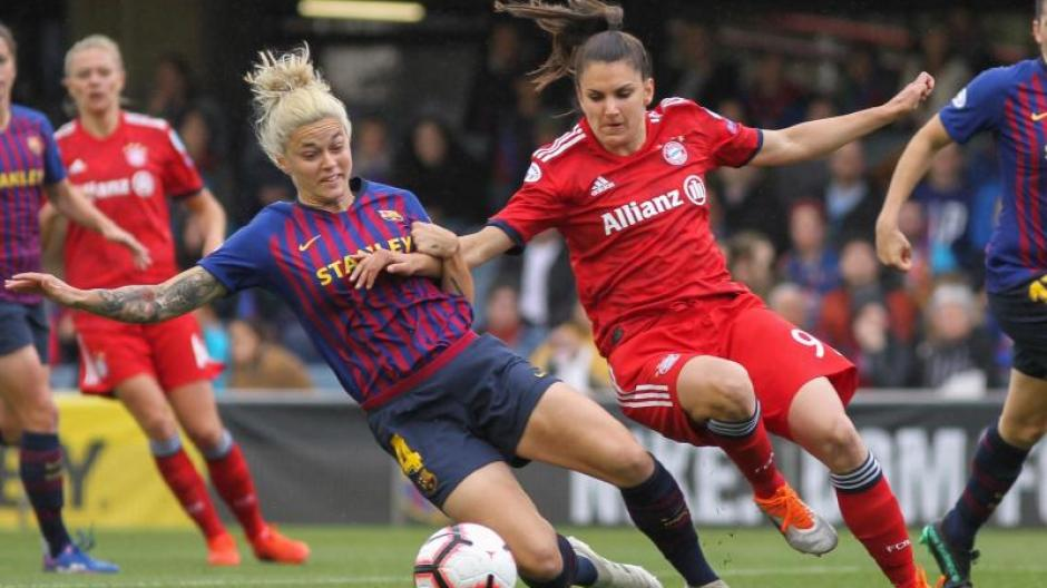 Champions League Munchnerinnen Verpassen Gegen Fc Barcelona