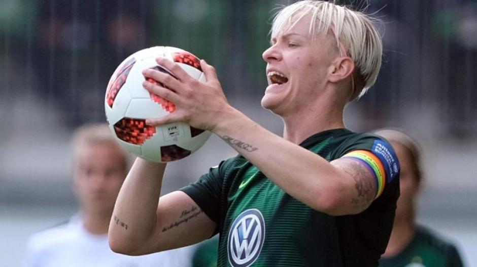 Deutscher Wm Gegner Schwedens Nilla Fischer Die Frau Mit