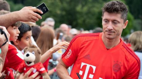 Robert Lewandowski fordert weiter Verstärkung für den FC Bayern München.