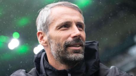 Will sich mit Gladbach in Rom nicht verstecken: Gladbach-Coach Marco Rose. Foto: Marius Becker/dpa