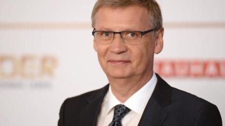 Bekennender Hertha-Fan: TV-Moderator Günther Jauch.