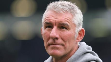 Mirko Slomka ist nicht mehr Trainer von Hannover 96. Foto: Peter Steffen/dpa
