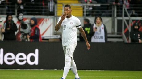 Bayern-Verteidiger Jérôme Boateng muss zwei Bundesligaspiele zuschauen.