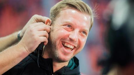 Die Popularität von Trainer Florian Kohfeldt ist bei Werder Bremen ungebrochen. Foto: Rolf Vennenbernd/dpa