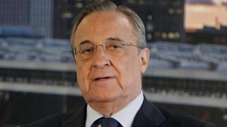 Real Madrids Präsident Florentino Perez wurde am FIFA-Sitz in Zürich zum WFCA-Präsidenten gewählt. Foto: Javier Lopez/epa/dpa