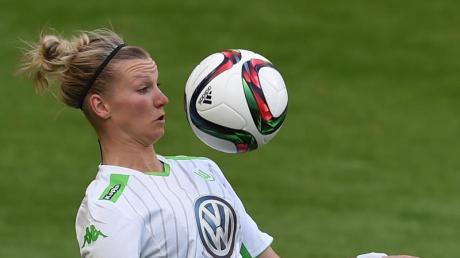 Erzielte gegen Bayern München nach vier Minuten die Führung: Alexandra Popp.