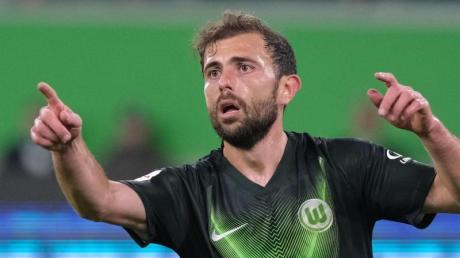 Admir Mehmedi will Wolfsburg vorzeitig in die K.o.-Runde schießen.